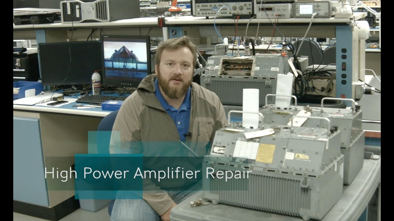 military electronic repair services rf amplifiers power supplies