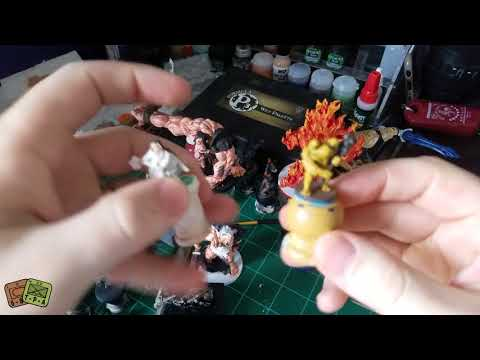 Painting: Andrew Simon Thomas' Toad Warrior miniature from Shapeways - The Players' Aid
