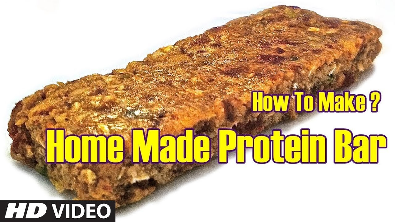 How To Make Home Made Protein Bar | Health and Fitness Tips | Guru Mann