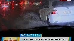 BT: Ilang bahagi ng Metro Manila, binaha dahil sa malakas na ulan