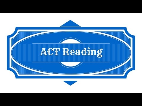 Free ACT Reading Strategies - ACT Test Study Guide