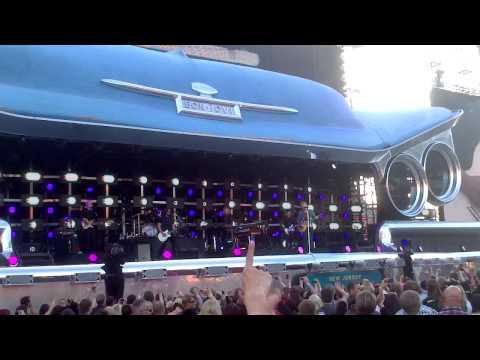 """Bon Jovi at Ratina Stadium in Tampere, Finland on May 26, 2013: """"RUNAWAY"""""""