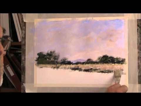 Chichester Canal  Acrylic, Part 1 MOD