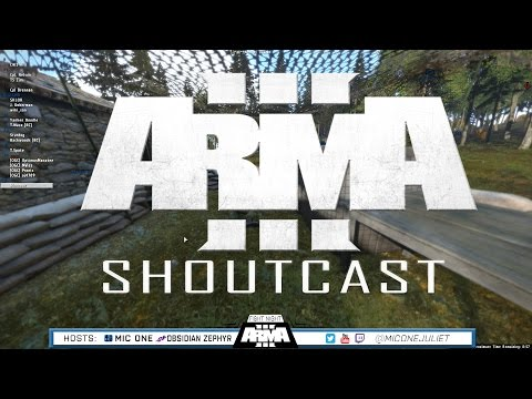 ARMA 3 ShoutCast- Battle for the FOB - Ep.14