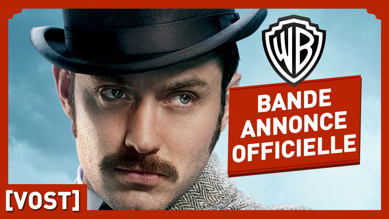 Sherlock Holmes 2 : Jeux d'Ombres - Bande Annonce 2 Officielle (VOST) - Robert Downey Jr / Jude Law