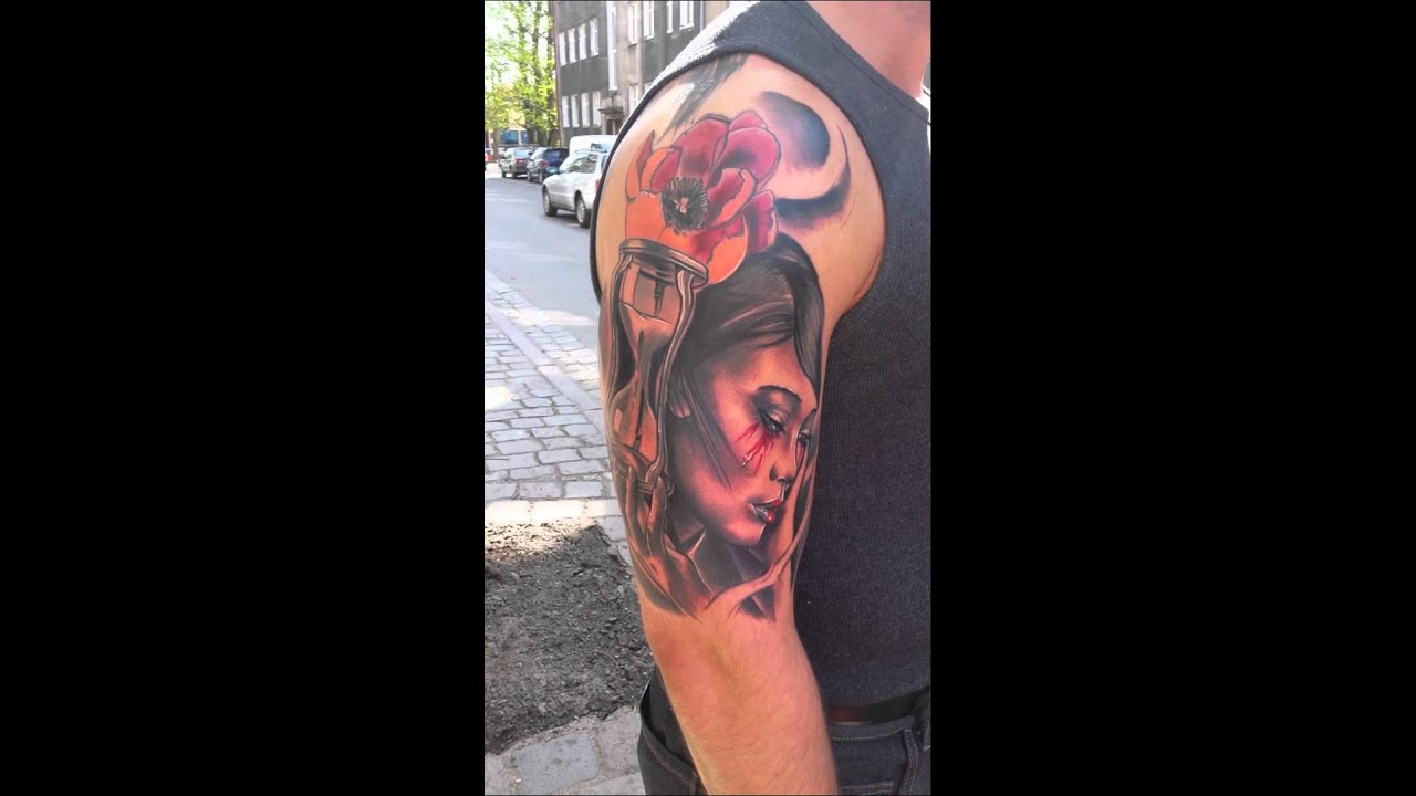Tatuaż Gejsza Wyklechu