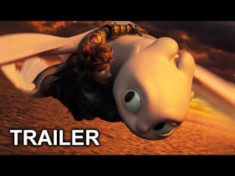 Cómo Entrenar A Tu Dragón 3 - Trailer Español Latino 2019 #1