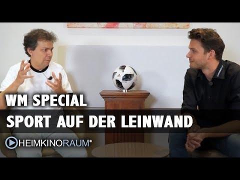WM und Sport auf der Leinwand in UHD, 4K, HDR, HLG
