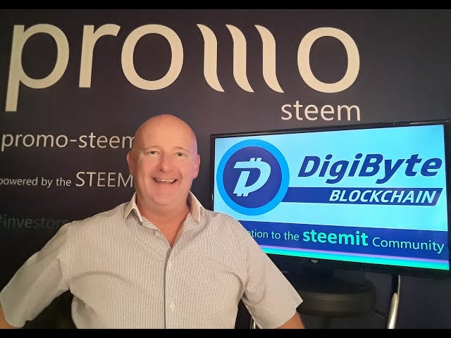 Presenting the DigiByte Blockchain & the DigiByte Community to the Steemit Community. Stephen Kendal