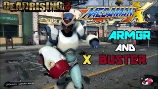 "Dead Rising 3 - Megaman X Armor and X Buster ""Charge Shot = Zombie Genocide"""