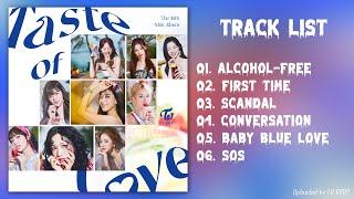 [full Album] T W I C E (트와이스)   Taste Of L O V E