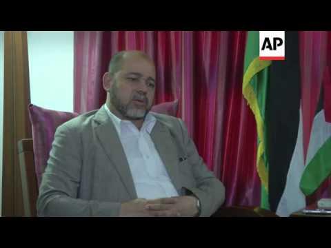 Deputy Hamas leader hopes to return to the Gaza Strip