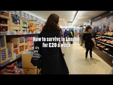 How to survive in London for £20 a week