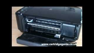 Canon Pixma MG3150 - How to replace printer ink cartridges(This video demonstrates on how to change the ink on a Canon Pixma MG3150 printer. http://www.cartridgegenie.co.uk., 2012-06-11T14:03:59.000Z)