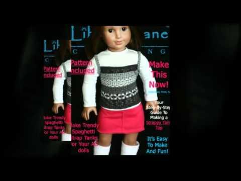 FREE Patterns For American Girl® Dolls Liberty Jane