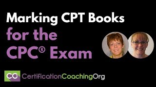 Marking CPT Books for the CPC® Exam