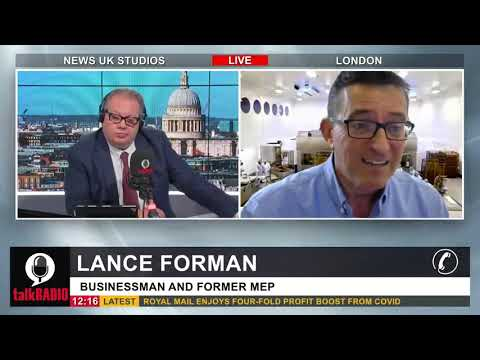 Lance Forman on TalkRadio discussing Israel-Gaza Conflict