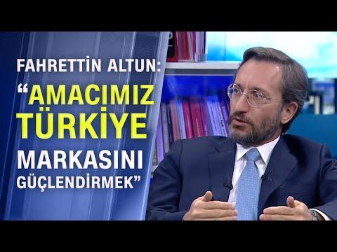 İletişim Başkanı Fahrettin Altun, İletişim Başkanlığı'nın misyon ve vizyonunu anlattı!