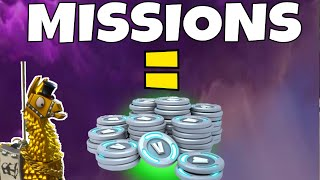 *EASY* V BUCKS | HOW TO GET V BUCKS FROM MISSIONS! | Fortnite Save The World
