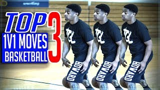 Top 3 Ways To Win 1v1 Basketball (Simple Moves)