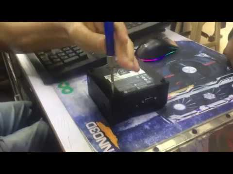Gigabyte Brix Unboxing & Ram Upgrade , HOW TO RAM UPGRADE NUC GIGABYTE BRIX