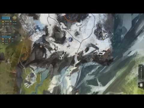 【Guild Wars 2】Dredgehaunt Cliffs - Black Earth Coalmine Vista