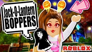 🎃JACK-O-LANTERN BOPPERS🎃 CANDY MAP EVENT in Royale High Roblox H&M Homestore