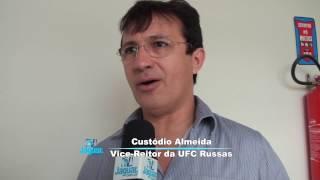 Custodio Almeida vice reitor da UFC relata objetivos da visita de Danilo Forte ao campus