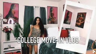 COLLEGE MOVE-IN VLOG: NCAT 2019