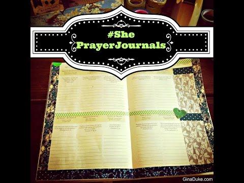 #ShePrayerJournals Weekend Workshop #2 - Weekly Journal Setup