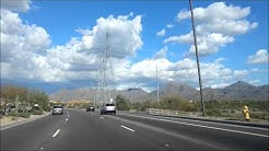Driving in Glendale, Scottsdale, Arizona