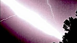 Close lightning bolt strikes in LIGHTNING ALLEY plane strike lightning