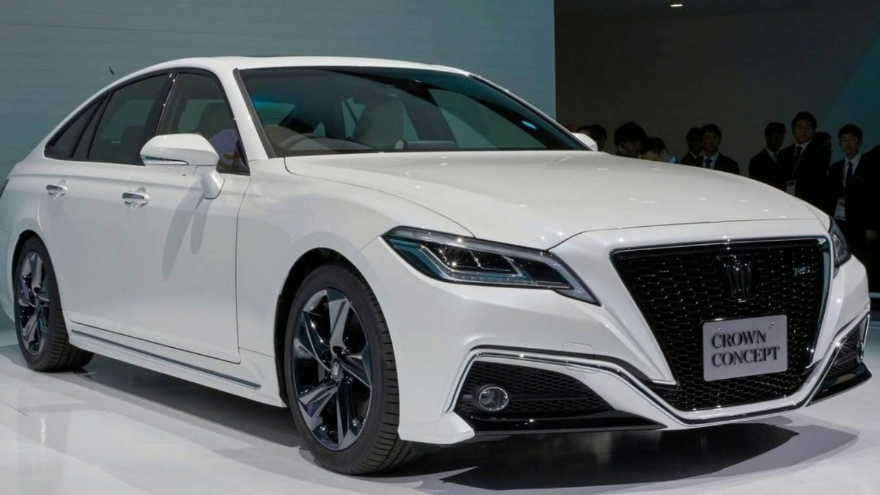 2018 Toyota Crown Tokyo Motor Show
