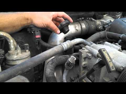 1999 Ford 7.3L Powerstroke Diesel Blowby test.  Stock#0513035