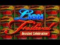 Live Play On Lion Festival Slot Machine - YouTube