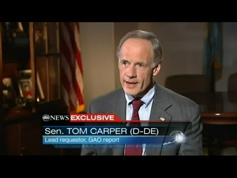 Sen. Tom Carper Featured in ABC World News Report on Foster Kids and Mind-Altering Drugs
