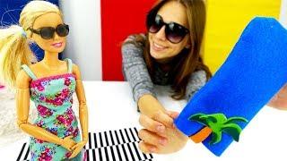Мультики с Барби для девочек - Чехол для очков своими руками