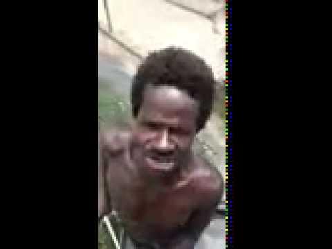 ugly homeless man singing - youtube