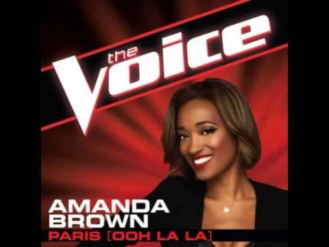 "Amanda Brown: ""Paris (Ooh La La)"" - The Voice (Studio Version)"