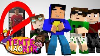 Minecraft: FOTO PROIBIDA! (Tente Não Rir)