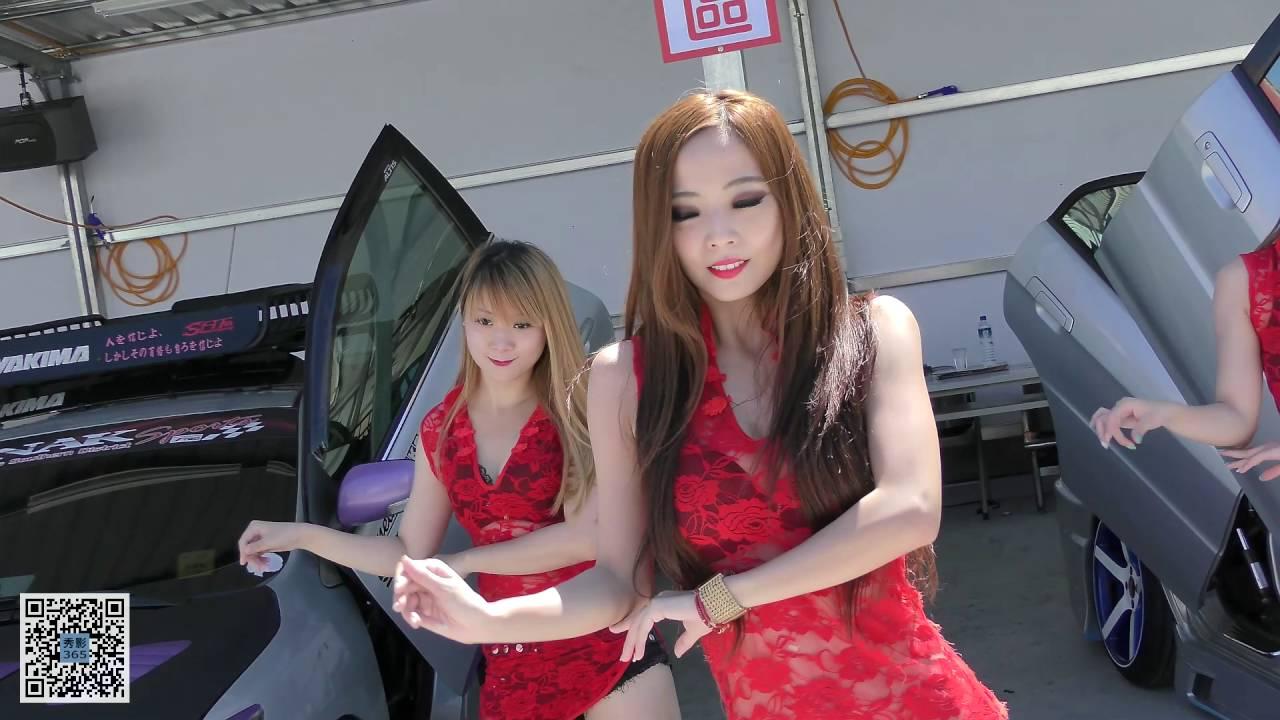 2016.06.25 高雄 自由洗車場 開幕活動 Angel-girls舞團 (董馨 蒂蒂 小竺) 性感熱舞 (1) [秀影365] - YouTube