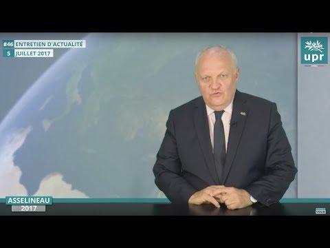Entretien d'actualité n°46 - Discours de Macron et Philippe - Vaccins - Sujets internationaux...