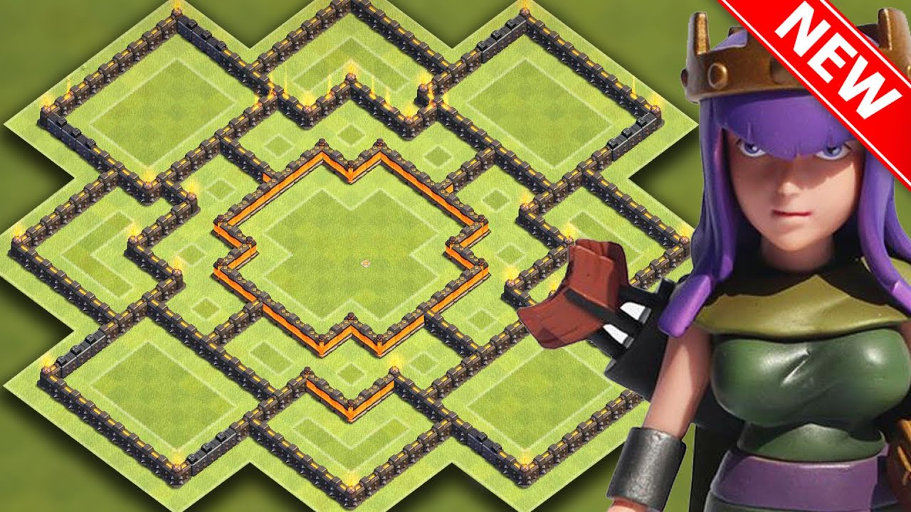 clash of clans best th10 hybrid base for new update insane town hall 10 farming trophy