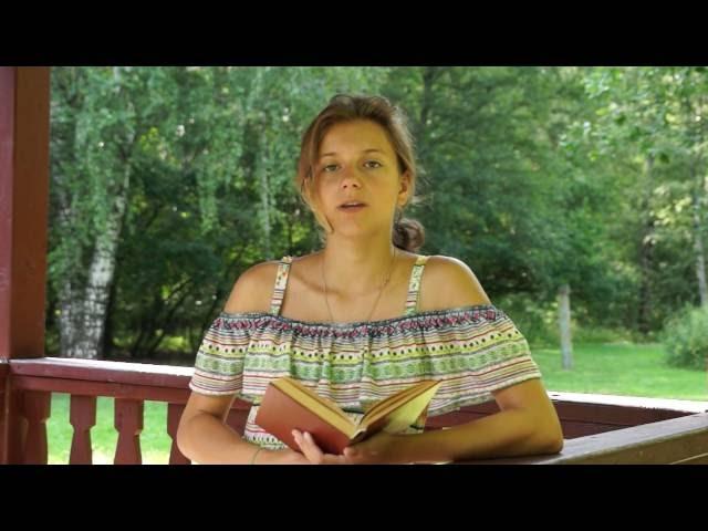 Изображение предпросмотра прочтения – ВераДуденкова читает произведение «Берёзка (Зелёная причёска, девическая грудь…)» С.А.Есенина