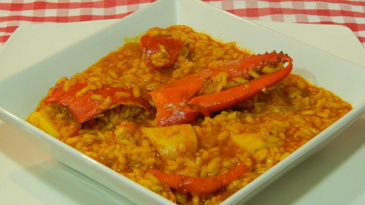 Recetas De Cocina Arroz Con Bogavante | Receta Facil De Arroz Meloso De Bogavante Youtube