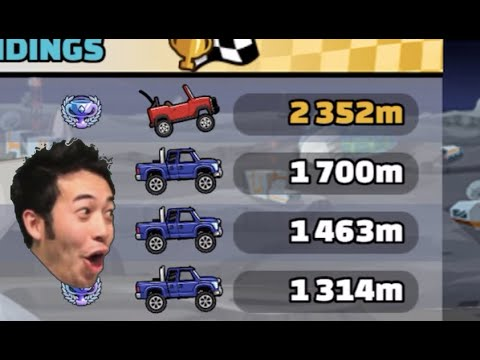 ANGRY SUPER DIESEL? OVERPOWERED JEEP In Bill, We Have A Problem Event - Hill Climb Racing 2
