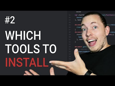 2: Which Tools To Use When Developing JavaScript   JavaScript Tutorial   JavaScript Programming
