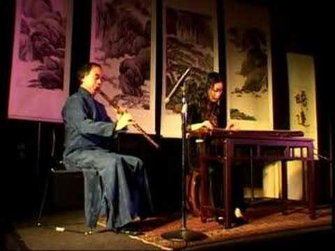 Chinese Music Guqin Wang Fei -王菲古琴李祥霆箫梅花三弄meditation relaxation Zen