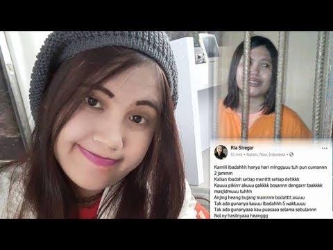 Perawat Cantik Nangis Diciduk Polisi Gara-gara Posting Kekesalan soal Tragedi Bom Gereja di Facebook