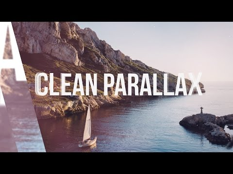 FREE After Effects CS Template Clean Parallax Slideshow YouTube - Ae slideshow template free